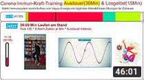 Immunsystem stärken: 30 Min Ausdauer-Training * Corona-Immun-Kraft-Training * Vagusnerv-Übungen