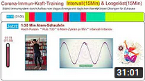 Immunsystem stärken: 15 Min Intervall-Training * Corona-Immun-Kraft-Training * Vagusnerv-Übungen