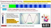 Immunsystem stärken: 5 Min Kalt Duschen * Corona-Immun-Kraft-Training * Vagusnerv-Übungen