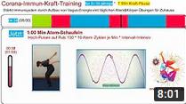 Immunsystem stärken: 5 Min Kraft-Pause für Kinder/Jugendliche * Corona-Immun-Kraft-Training * Vagusnerv-Übungen